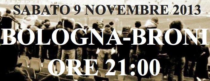 Presentazione Bologna-Broni