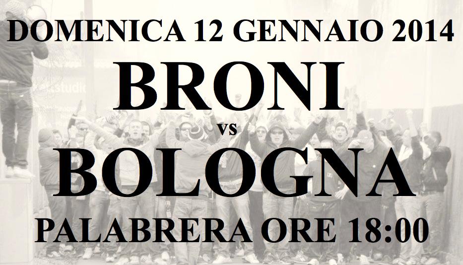 Presentazione Broni-Bologna