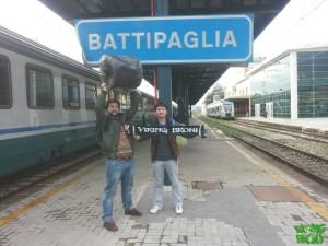 2 Marzo 2014 -Arrivo a Battipaglia-
