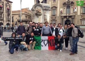 22 Marzo 2014 -Vikinghi in Piazza Duomo a Catania-