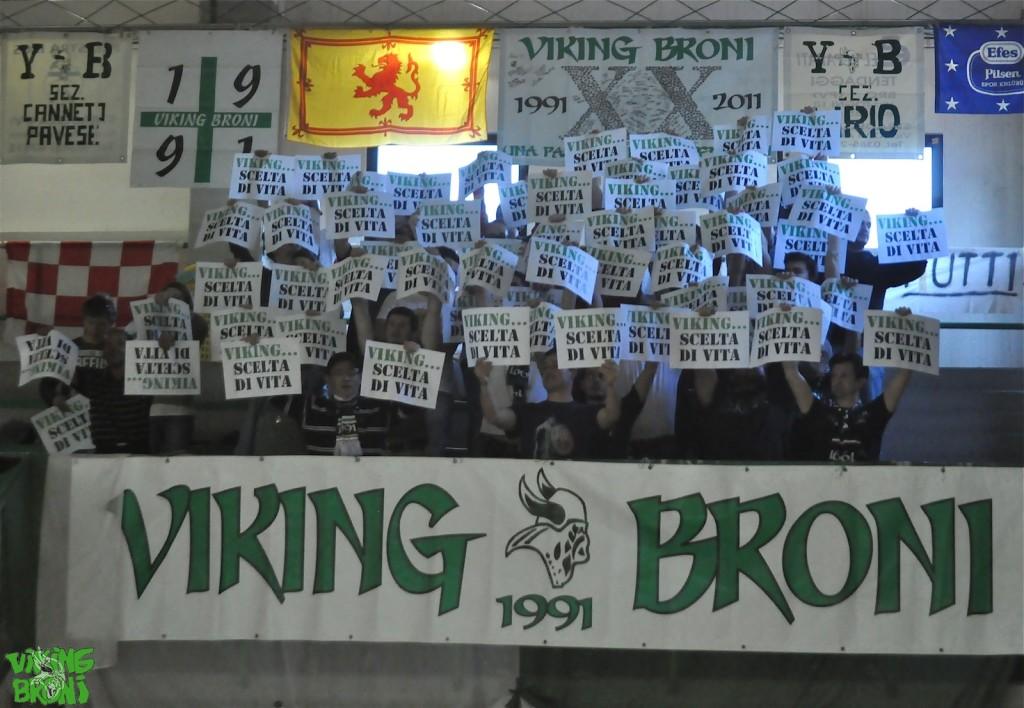 6 Aprile 2014 -Viking Broni con Napoli-