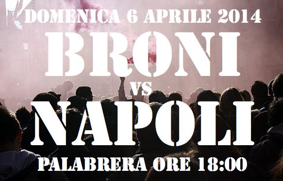Presentazione Broni-Napoli